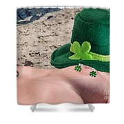 Celebrate St Pattys Day Shower Curtain