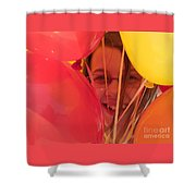 Celebrating Shower Curtain