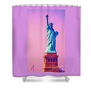 Celebrating Lady Liberty # 3 Shower Curtain