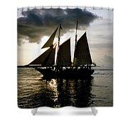 Celebrating Sunset Photograph Shower Curtain