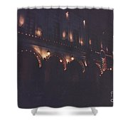 Celebration Mexico Independence Day Shower Curtain
