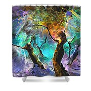 Celebration Of Life Shower Curtain