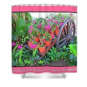 Celebration Of Mothers Shower Curtain