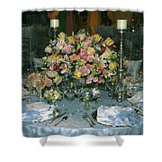 Celebration Table Shower Curtain