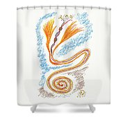 Express Your Passion Shower Curtain