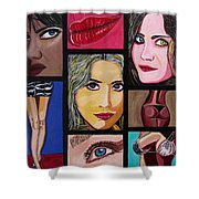 Celebrity Shower Curtain