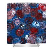 Celestial Bouquet Shower Curtain