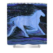 Celestial By Jrr Shower Curtain by First Star Art