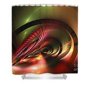 Celestial Equator Shower Curtain
