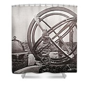 Celestial Globe And Sphere Beijing Shower Curtain