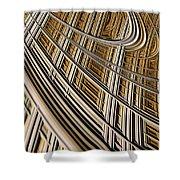 Celestial Harp Shower Curtain by John Edwards