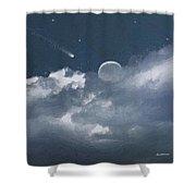 Celestial Night Shower Curtain