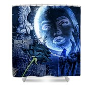 Celestine Shower Curtain by Mo T