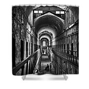 Cell Block 5 Shower Curtain