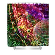 Cell Dreaming 8 Shower Curtain