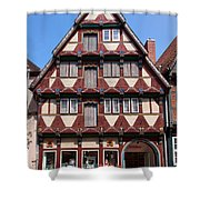 Celle Old Houses Shower Curtain