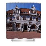 Celle Rathaus Shower Curtain