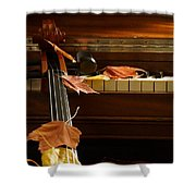 Cello Autumn 2 Shower Curtain