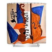 Cello II Shower Curtain