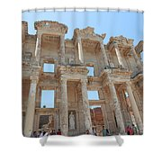 Celsus Library In Ephesus Shower Curtain