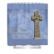 Celtic Blessing 2 Shower Curtain