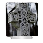 Celtic Cross 10194 Shower Curtain