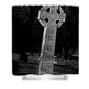Celtic Cross 3d22026 Shower Curtain