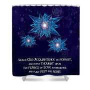 Celtic New Year Shower Curtain