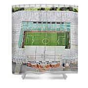 Celtic Park Stadia Art - Celtic Fc Shower Curtain
