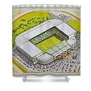 Celtic Park Shower Curtain