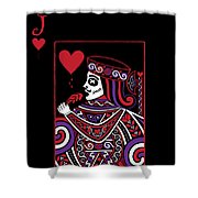 Celtic Queen Of Hearts Part Iv The Broken Knave Shower Curtain