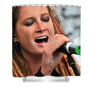 Celtica's Josy Svajda Shower Curtain