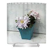 Cemetary Flowers 3 Shower Curtain