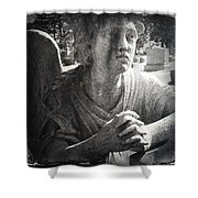Cemetary  Shower Curtain