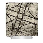 Cemetery Art Shower Curtain