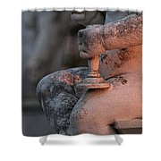 Cemetery Cherub - Hvar Croatia Shower Curtain