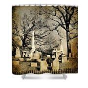 Cemetery Shades Shower Curtain
