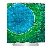 Cenote Original Painting Shower Curtain