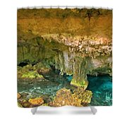 Cenote Two Shower Curtain