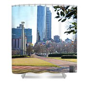 Centennial Olympic Park Shower Curtain