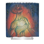 Center Flow Shower Curtain