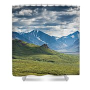 Center Of The Valley Shower Curtain