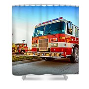 Central 801 Shower Curtain
