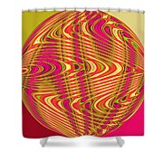 Central African Republic Shower Curtain