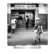 Central Bakery St. Lucia Shower Curtain