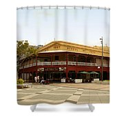 Central Cairns Historical Buildings Shower Curtain