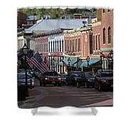 Central City  Shower Curtain