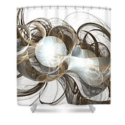 Central Core Shower Curtain