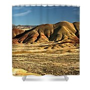 Central Oregon Painted Hills Shower Curtain