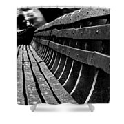 Central Park Bench Shower Curtain
